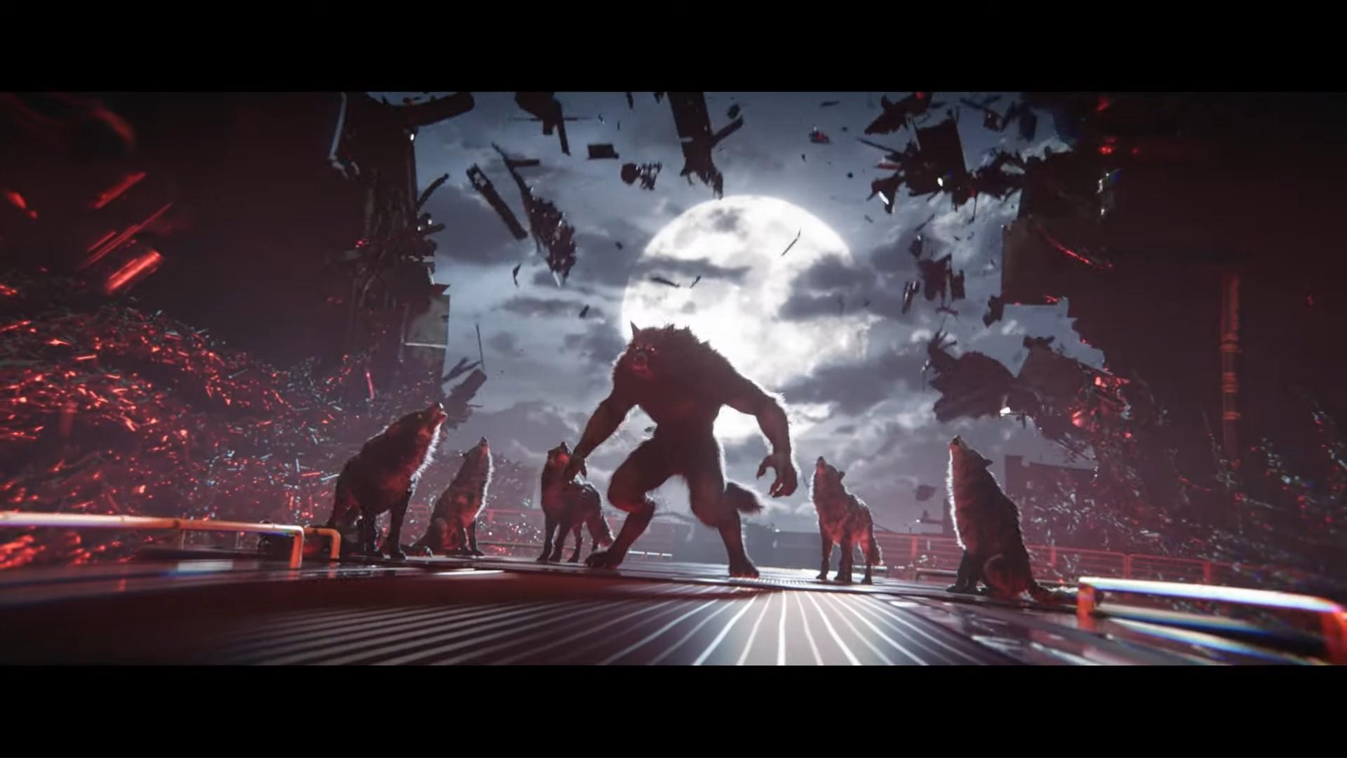 jugar como un hombre lobo en werewolf The Apocalypse: Earthblood jugar