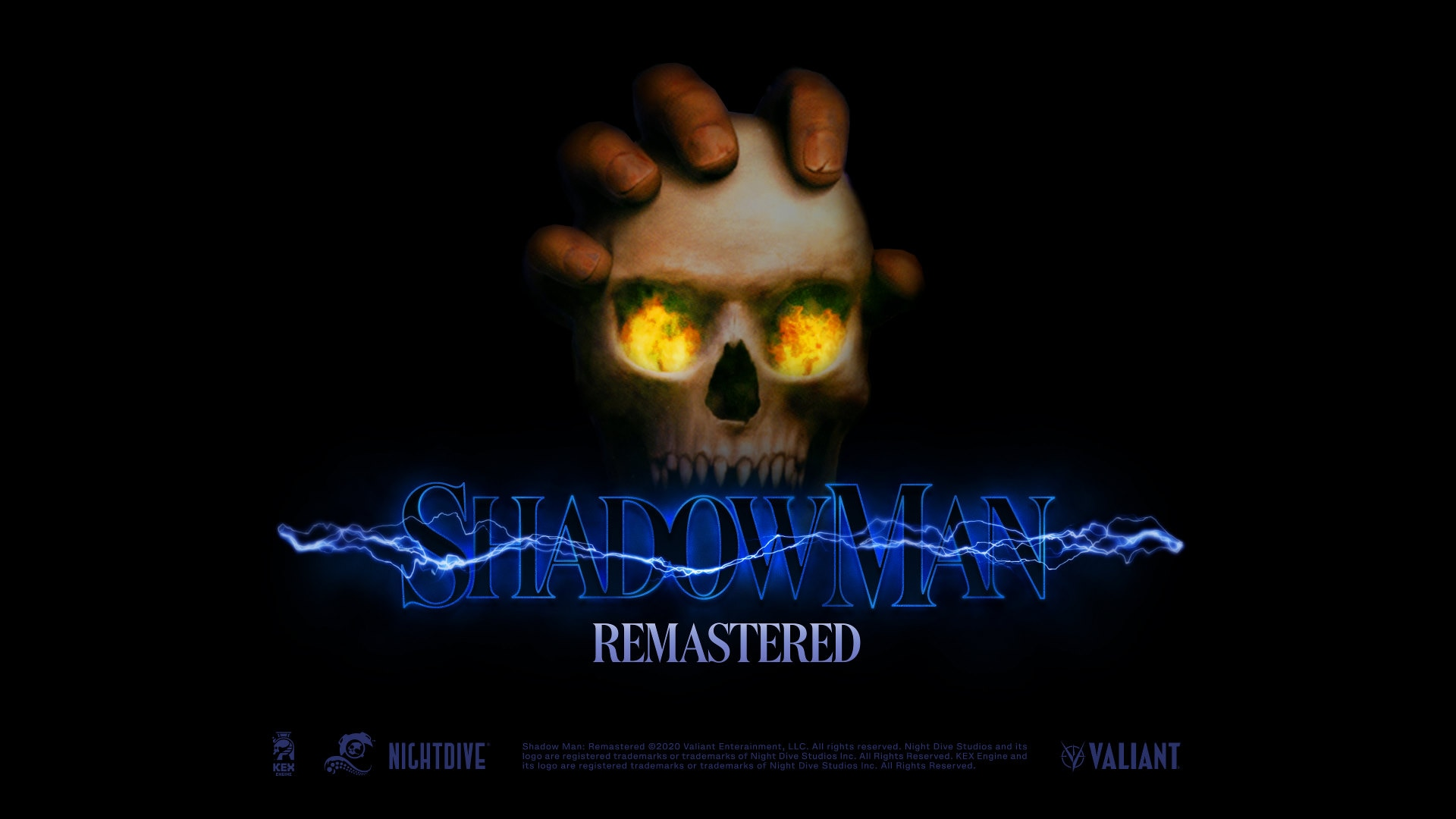 Shadow Man Remastered Logo