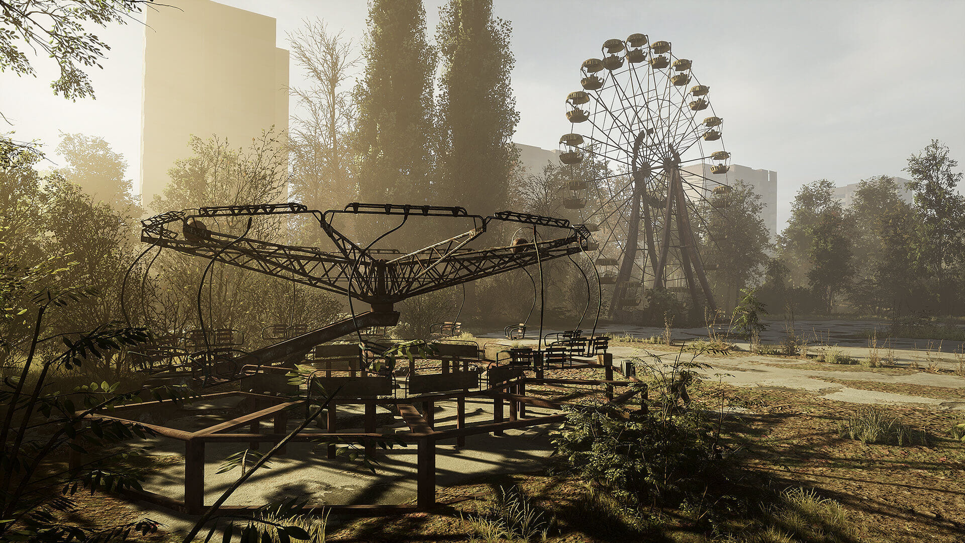 Chernobylite Pripyat Central
