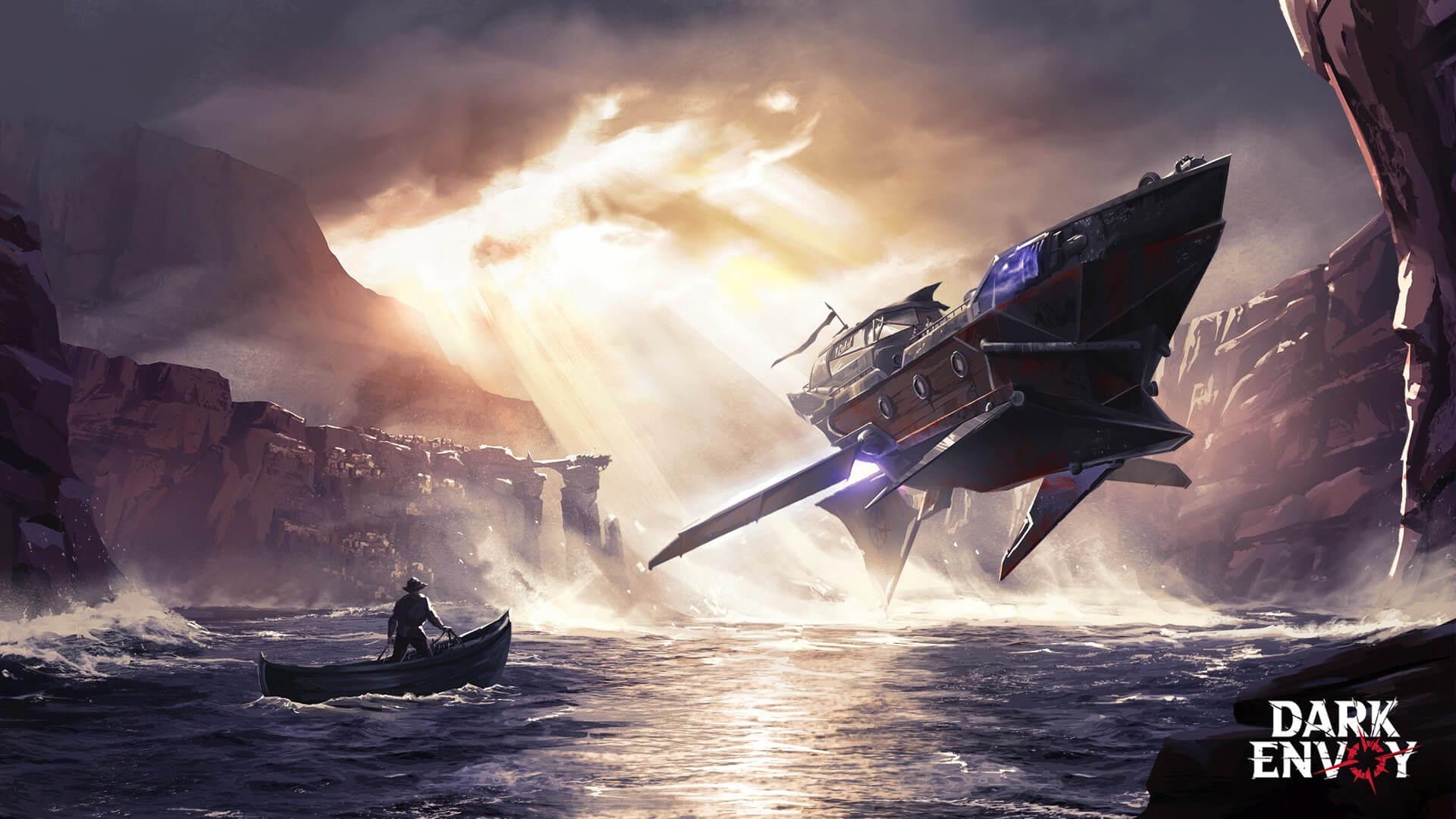 Dark Envoy Skyship