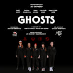 Ghosts Title Card with Cast