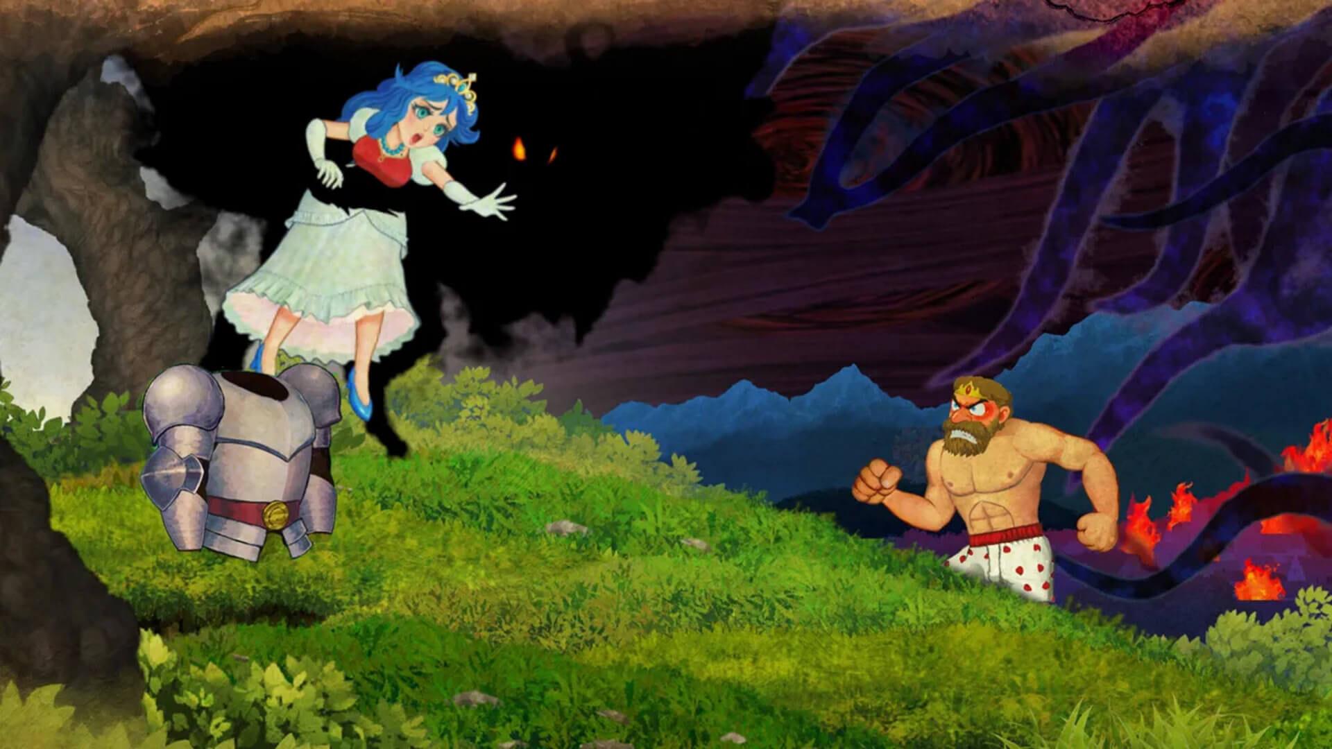 Ghosts 'n Goblins Resurrection Kidnap Princess