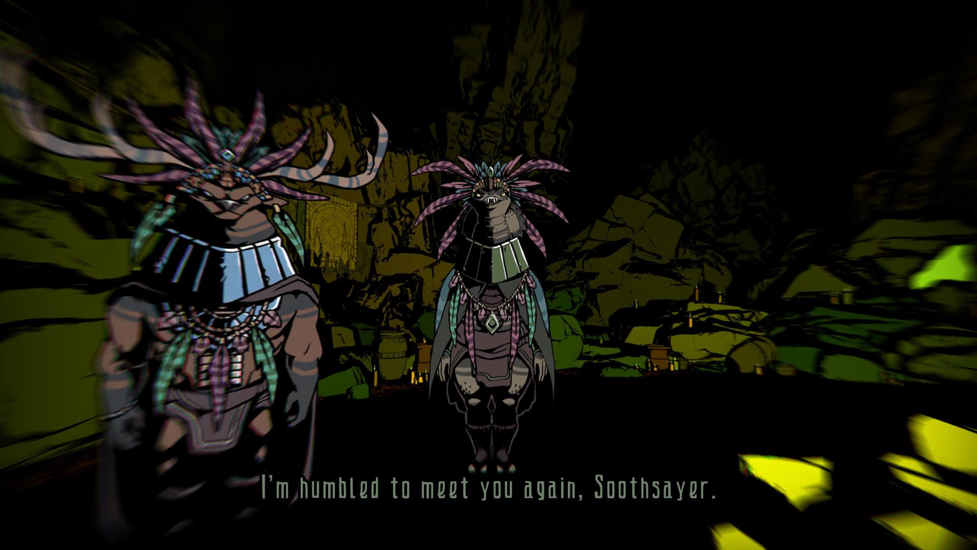 Grotto Screenshot Buff Deer and Snake