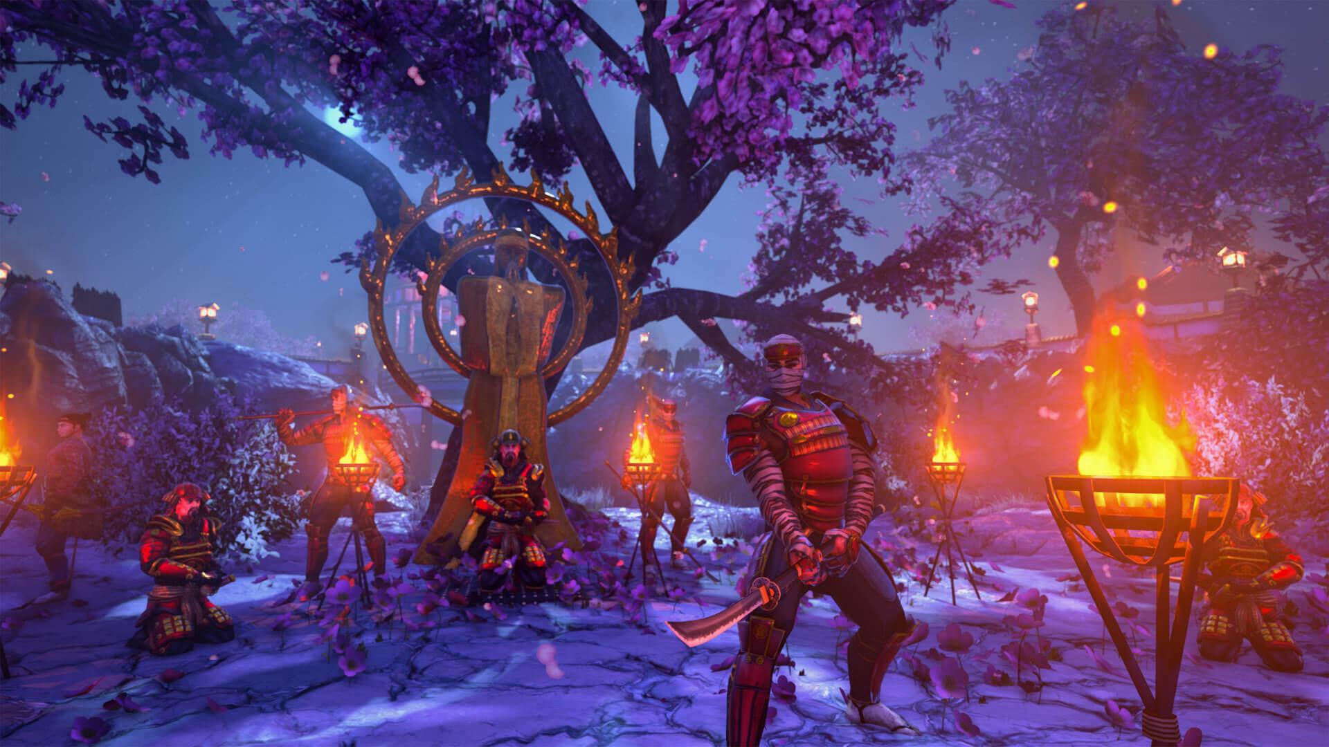Hanako: Honor & Blade Screenshot Clan