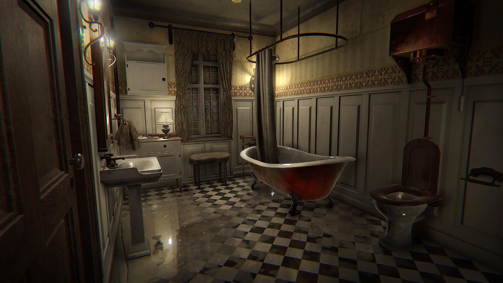 Layers of Fear Bathroom Screenshot