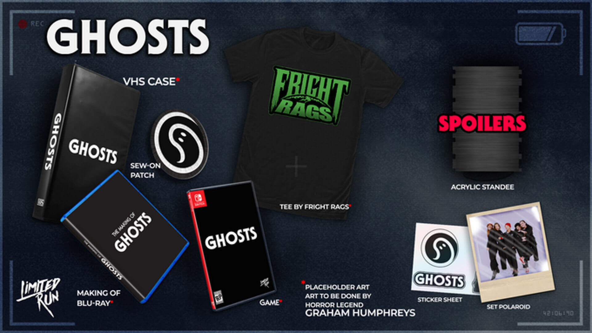 Limited Run Games Example Crowdfunding Ghosts