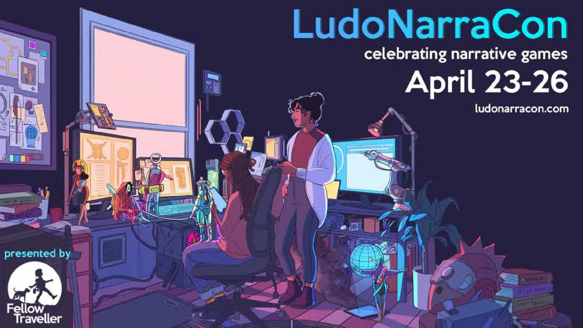 LudoNarraCon header