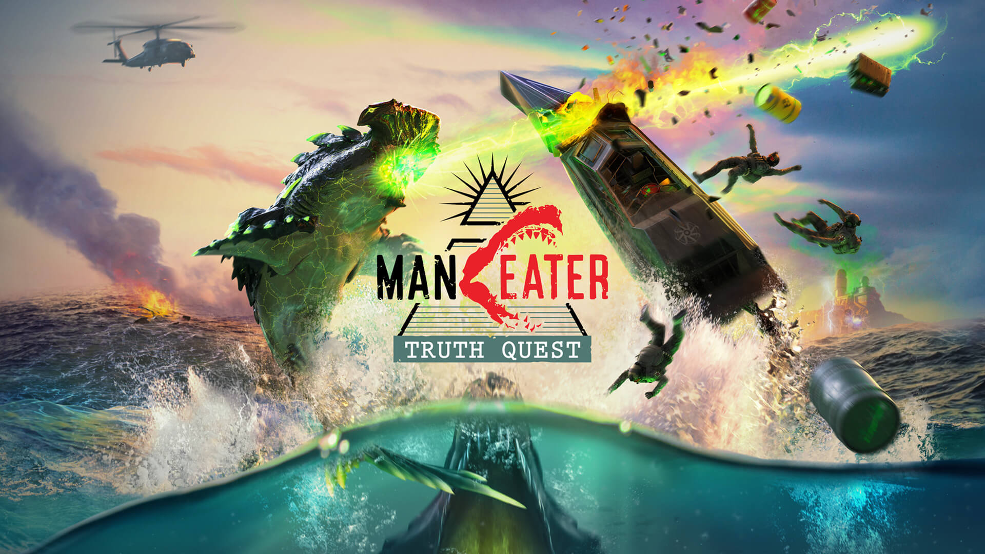 Maneater Truth Quest DLC Image