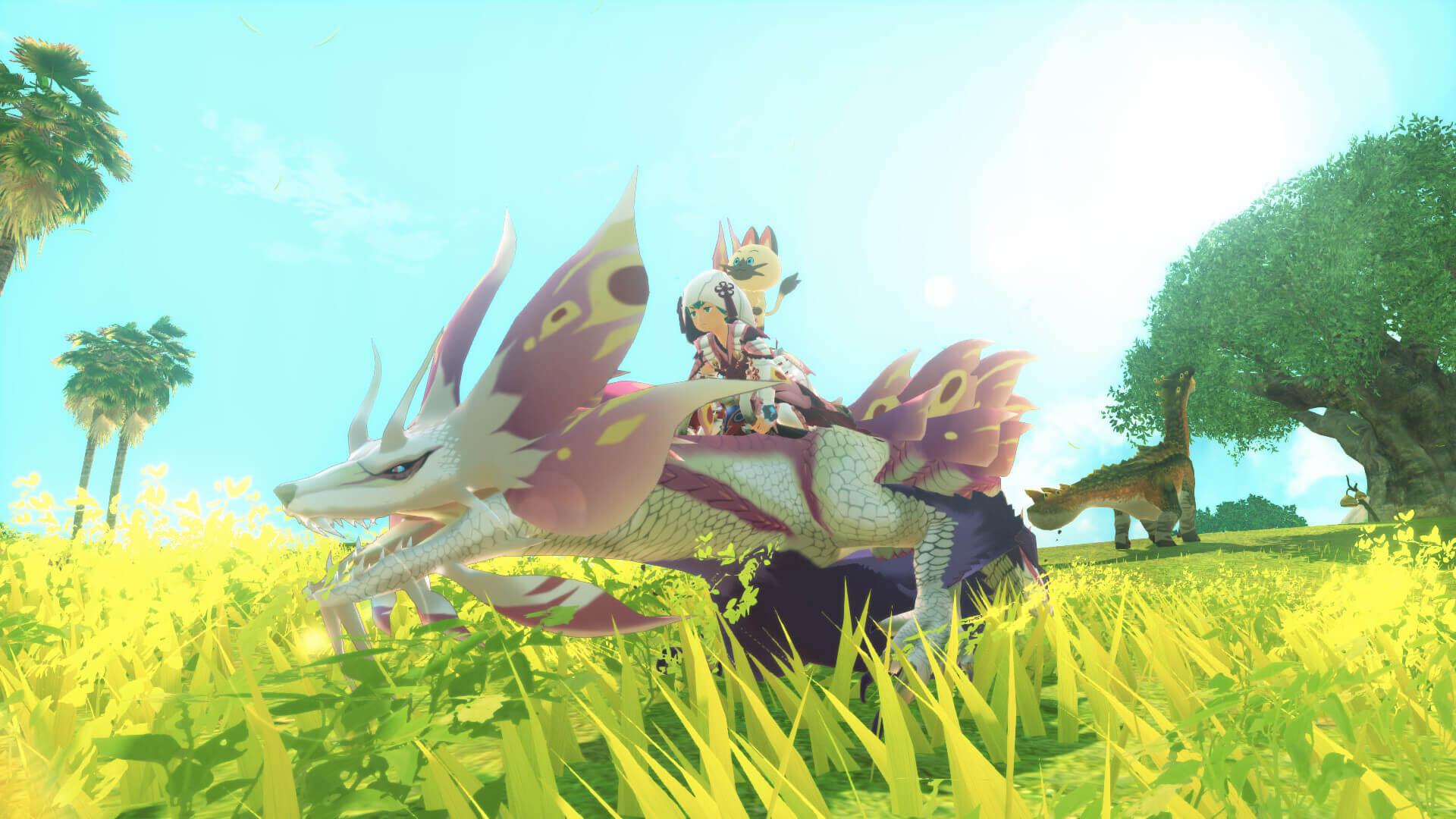 Monster Hunter 2 Wings of Ruin Screenshot