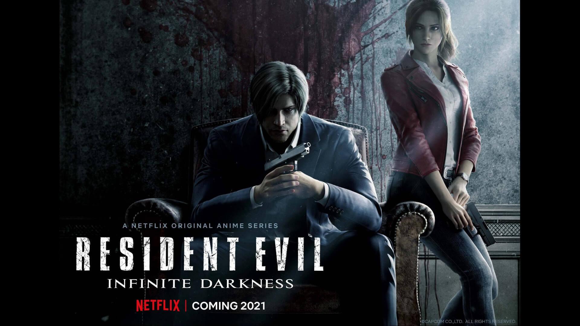 Resident Evil Infinite Darkness Promo Image
