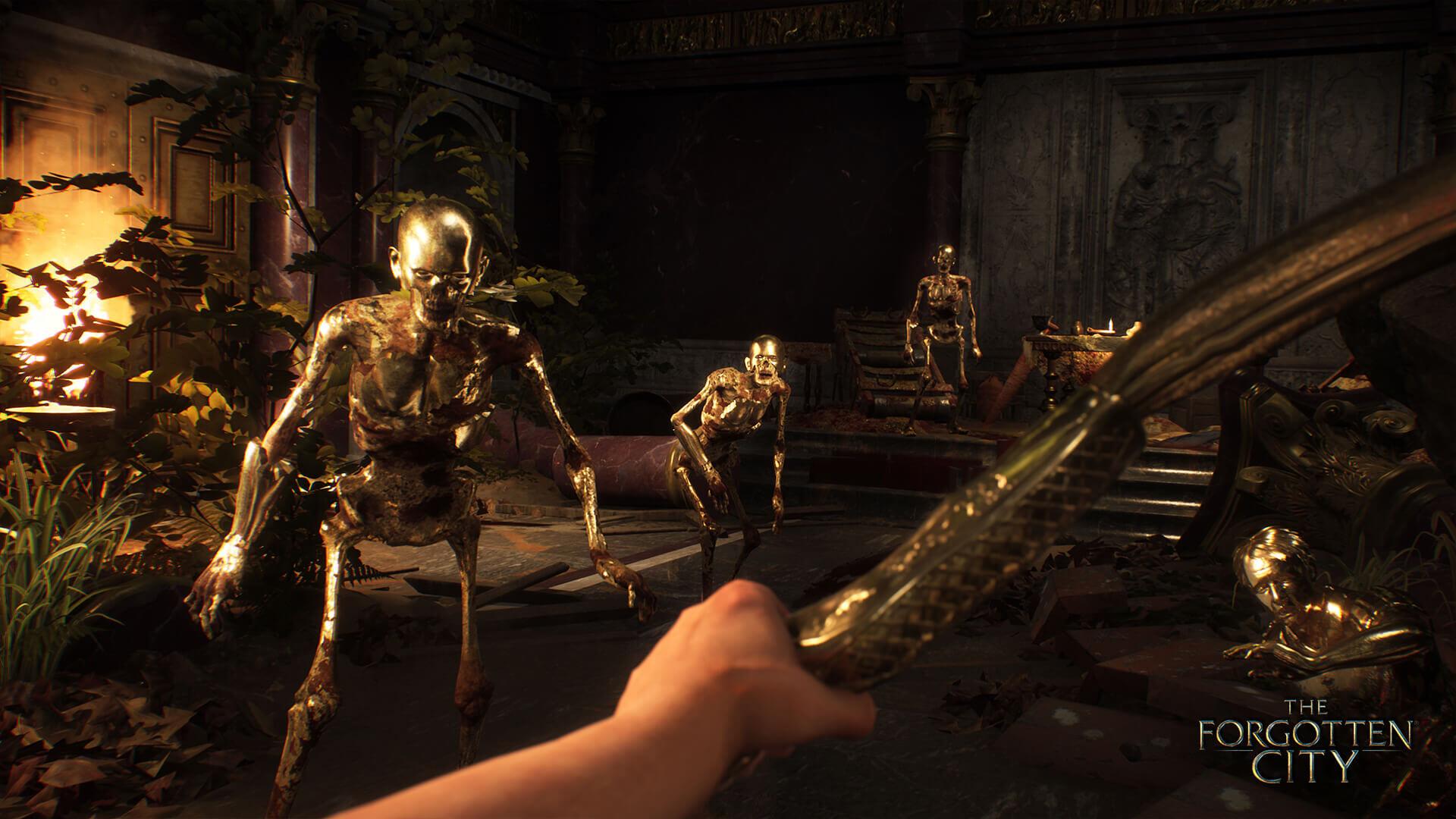 The Forgotten City Combat Screenshot
