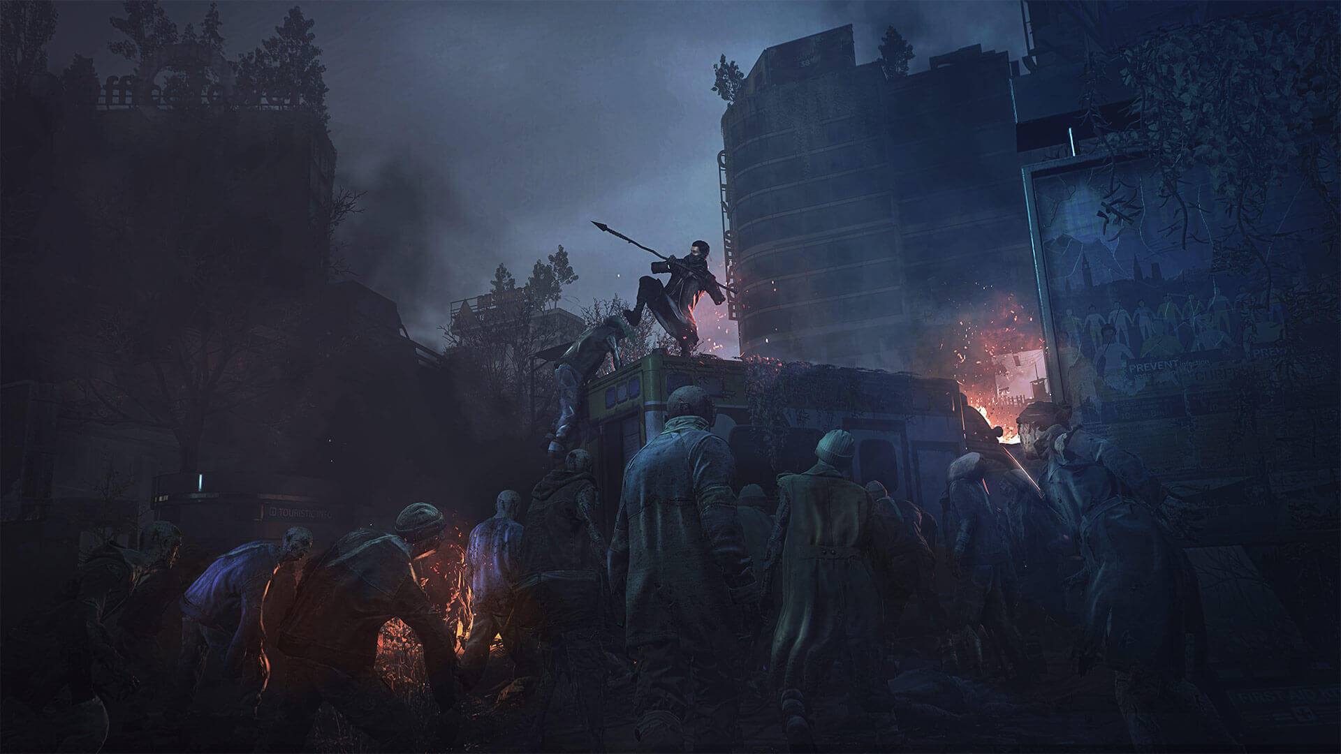 Dying Light 2 Screenshot bus