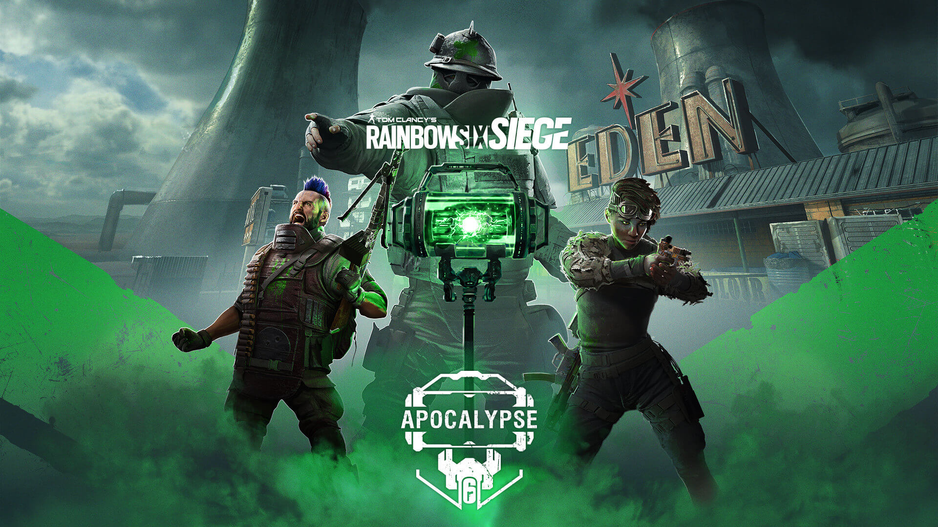 Rainbow Six Siege Apocalypse Keyart