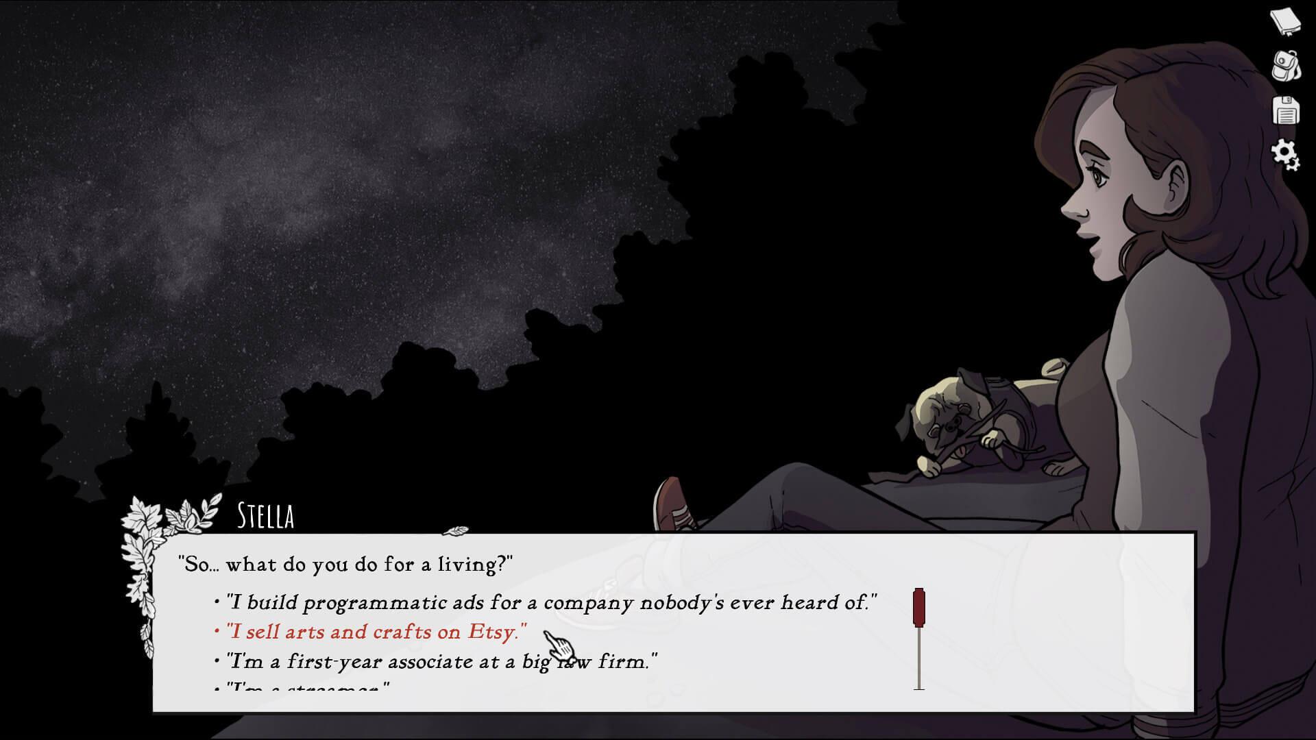 Scarlet Hollow Stella Screenshot