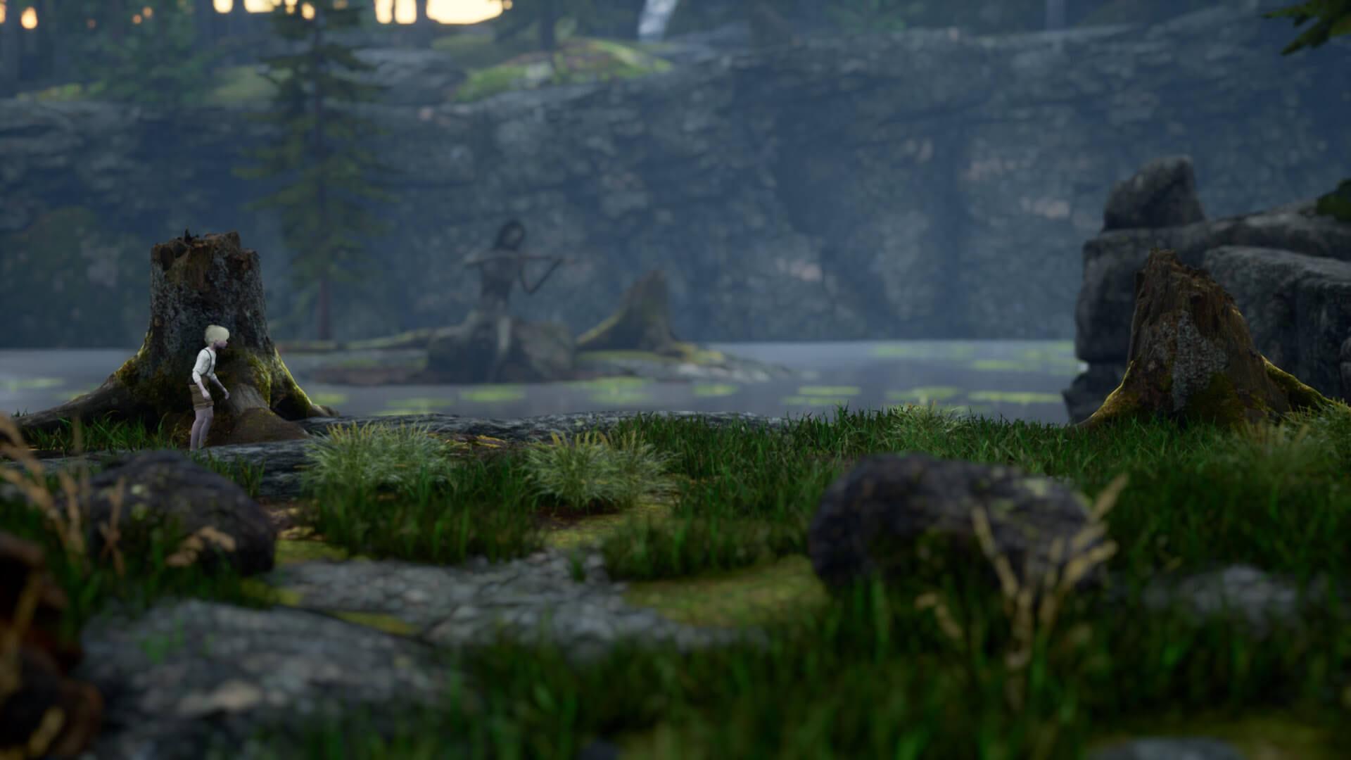 Bramble: The Mountain King Nacken Boss Screenshot