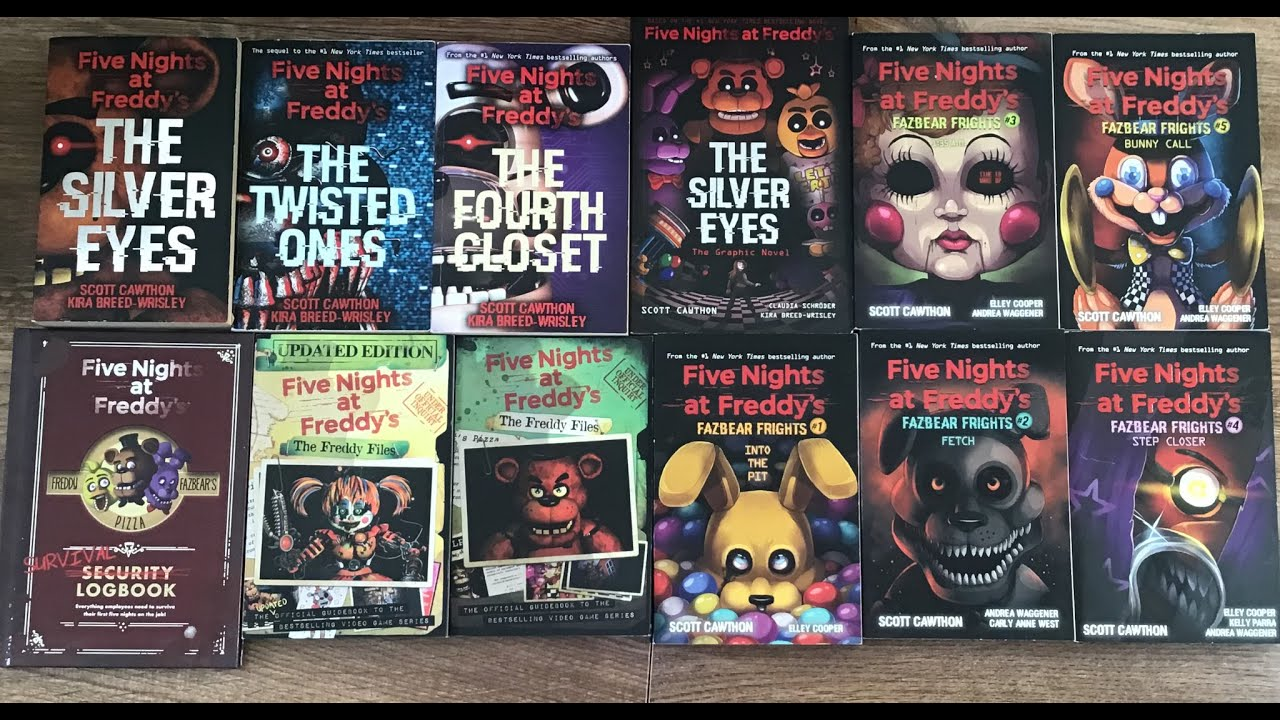 Five nights at freddy's books