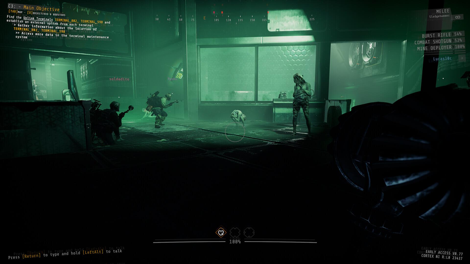 GTFO Rundown Rebirth Extended Screenshot