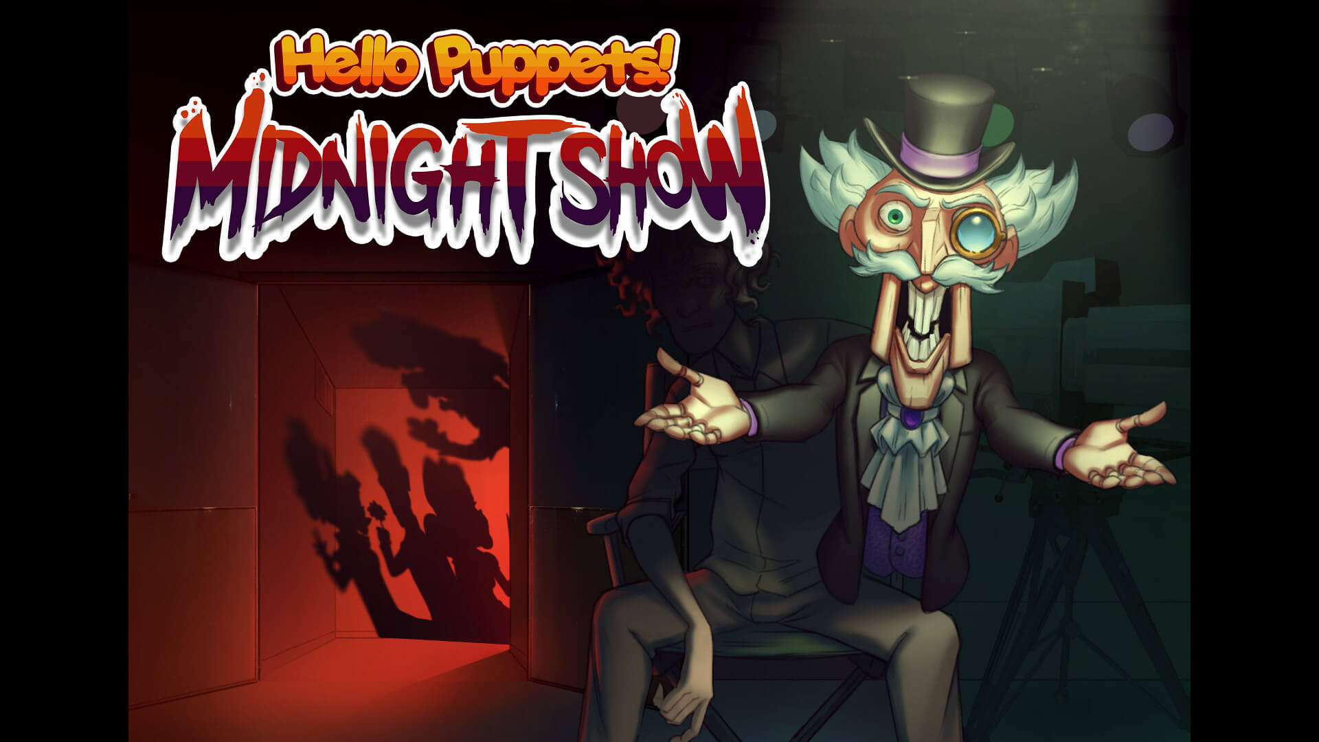 Hello Puppets Midnight Show Key Art