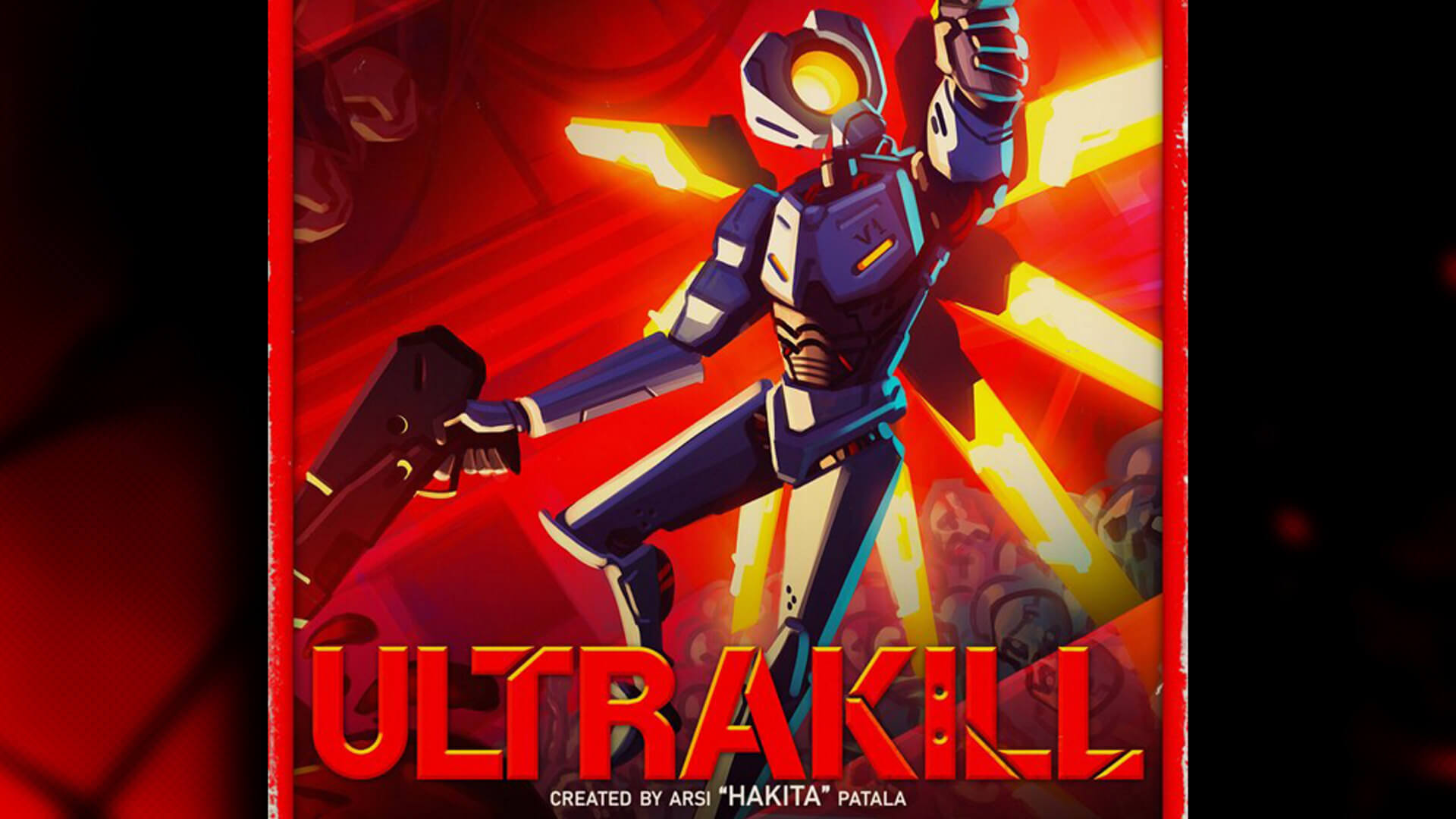Ultrakill poster art