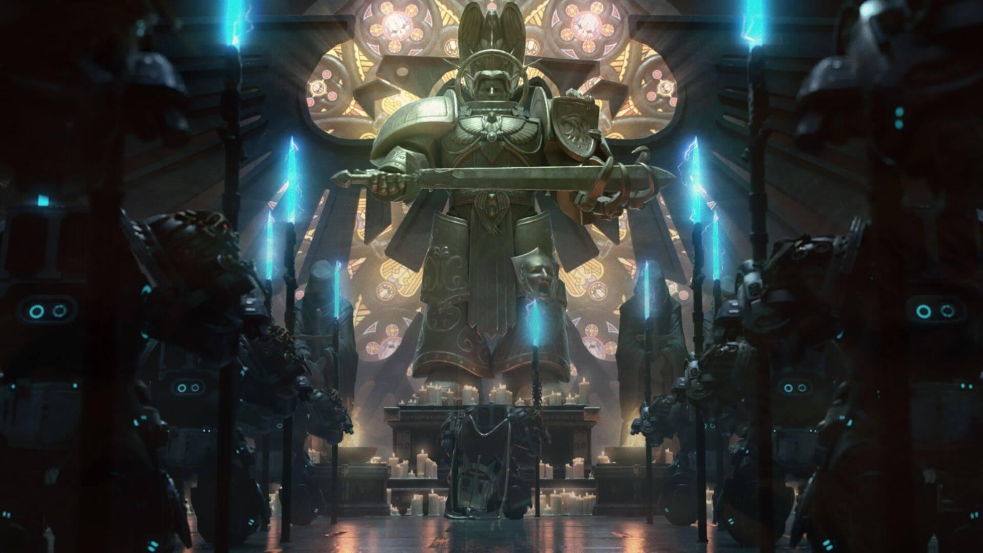 Warhammer 40K chaos gate daemonhunters screenshot