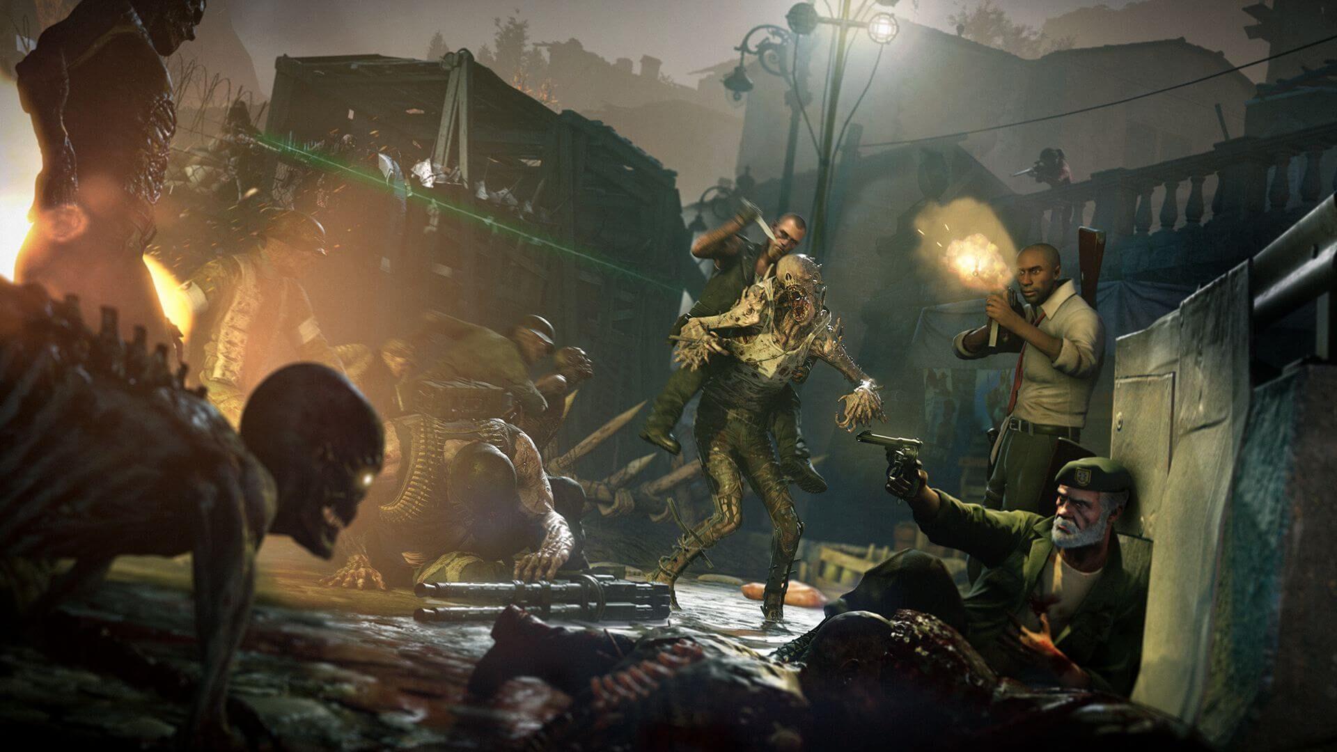 Zombie Army 4: Dead War Left 4 Dead Crossover Screenshot