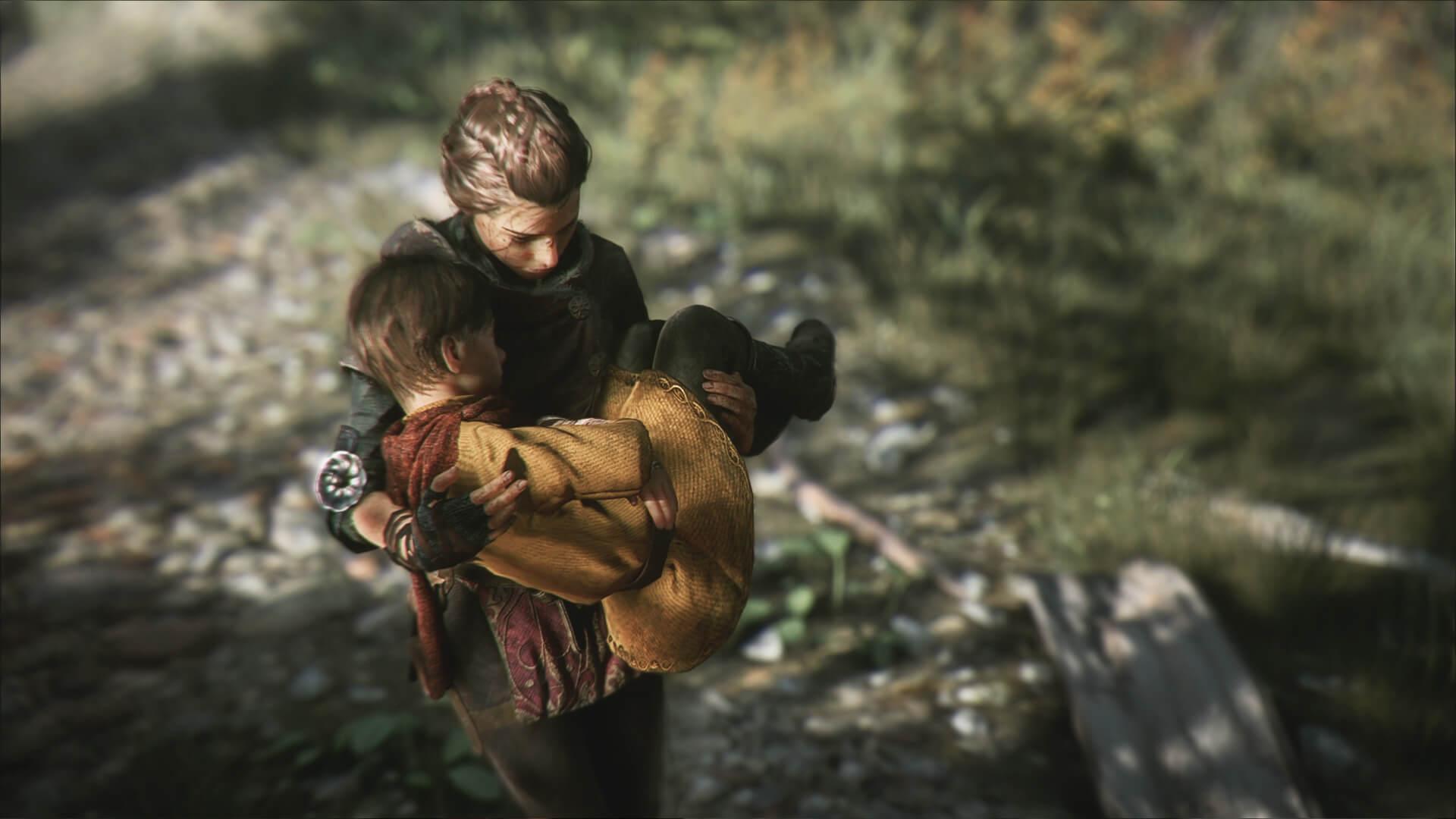 A Plague Tale: Innocence Amicia and Hugo