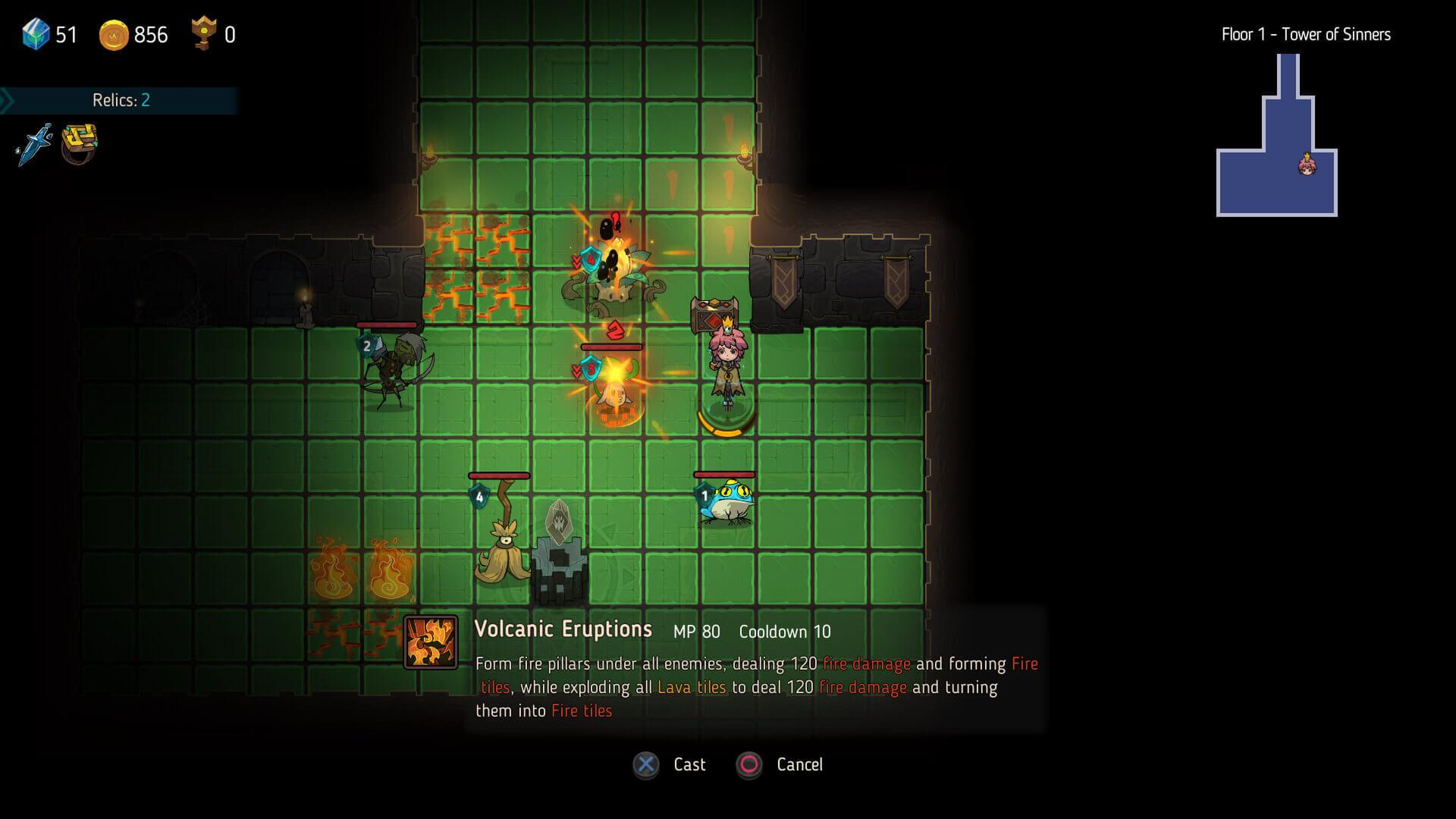 Crown Trick Combat Screenshot