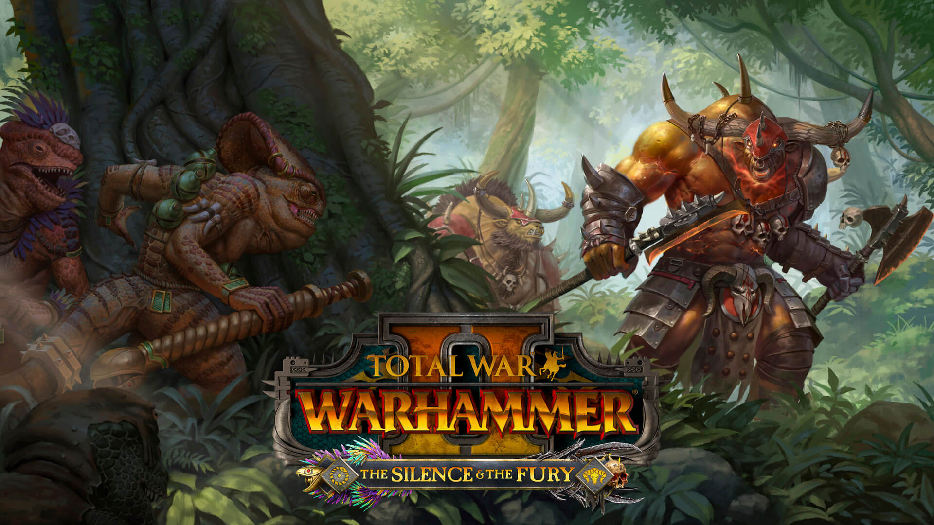 Total War: Warhammer II The Silence & The Fury Key Art