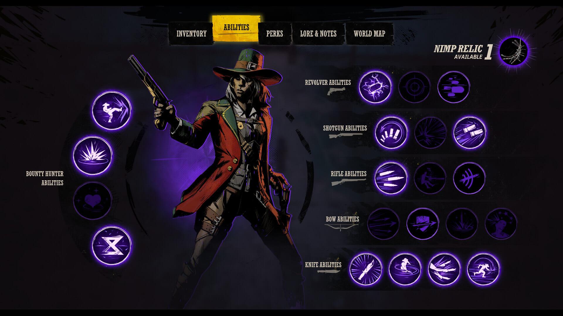 Weird West Bounty Hunter Abilities