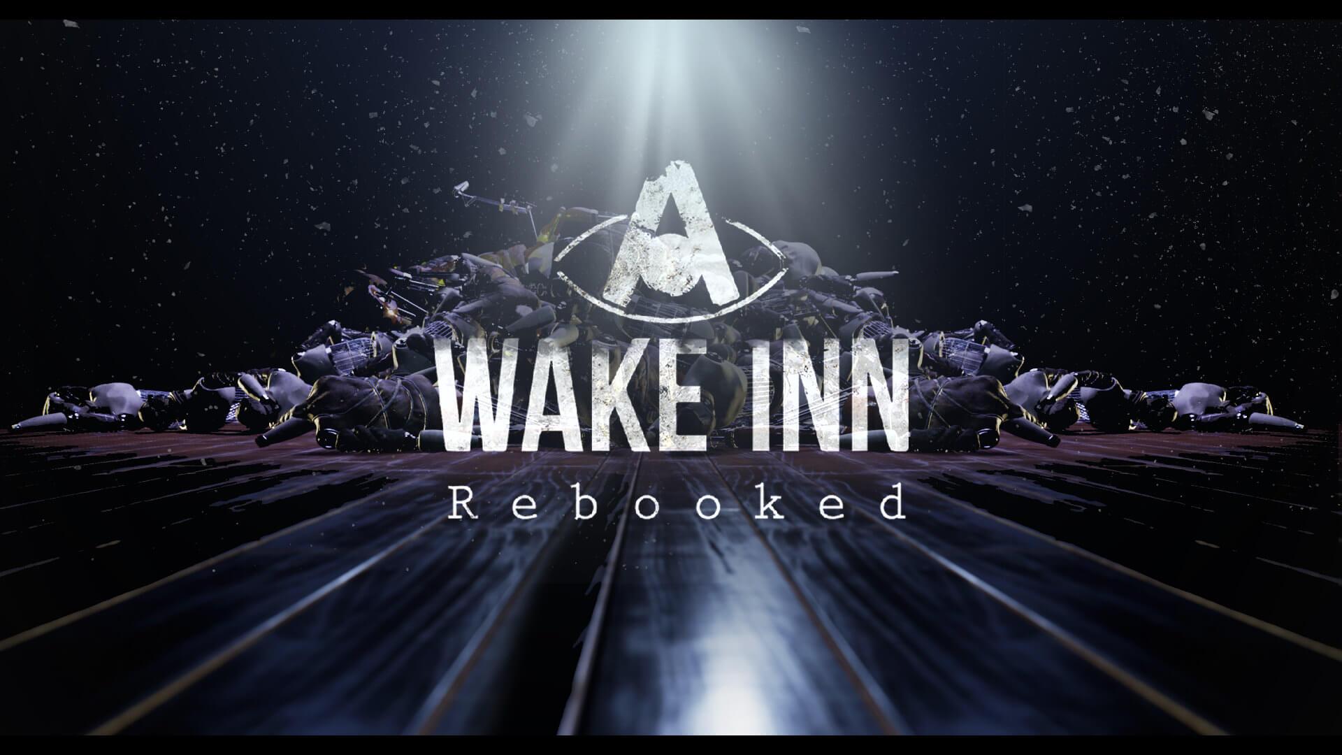 A Wake Inn: Rebooked Key Art