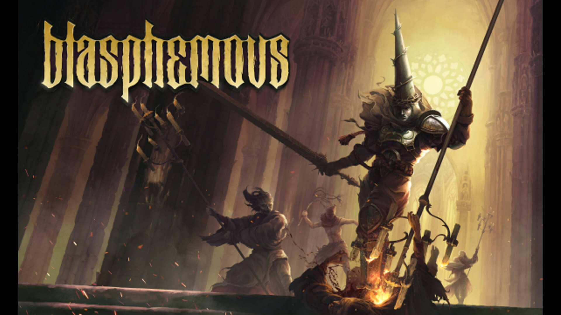 Blasphemous Sequel Announced Key Art