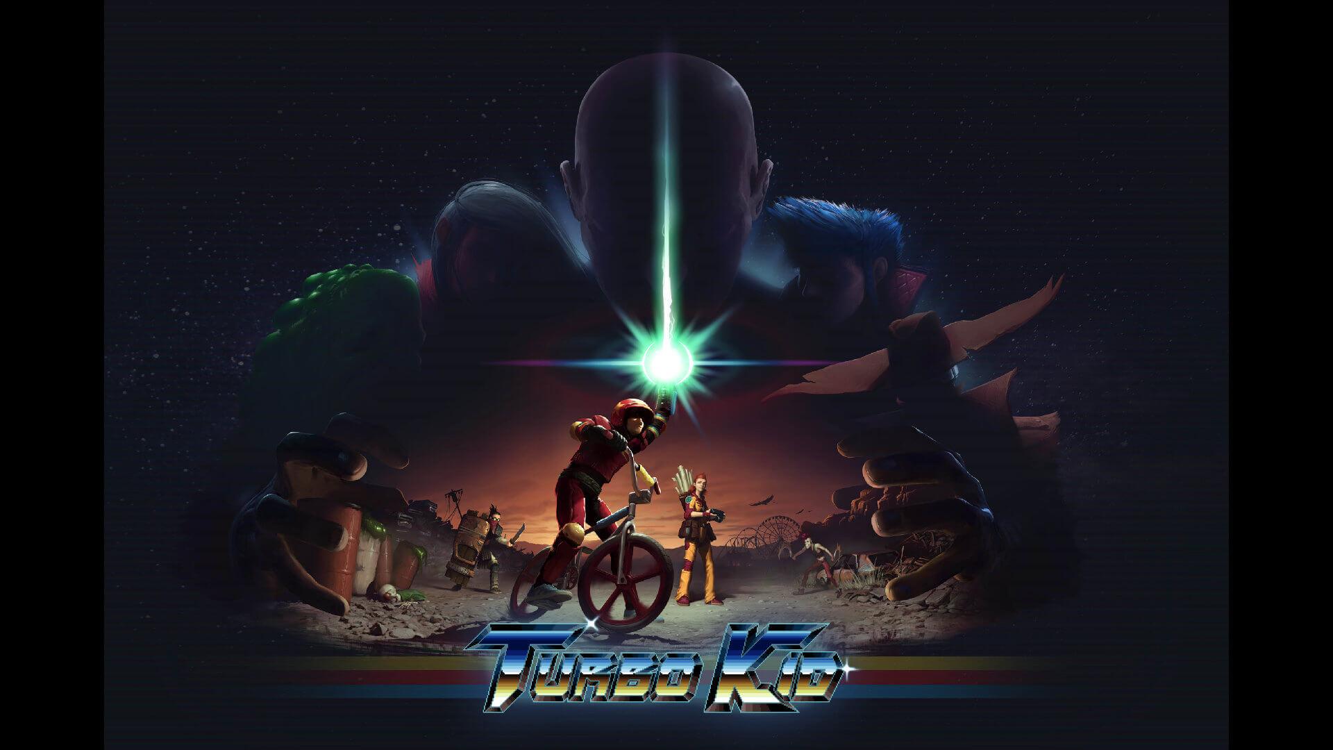 Turbo Kid Kickstarter Key Art