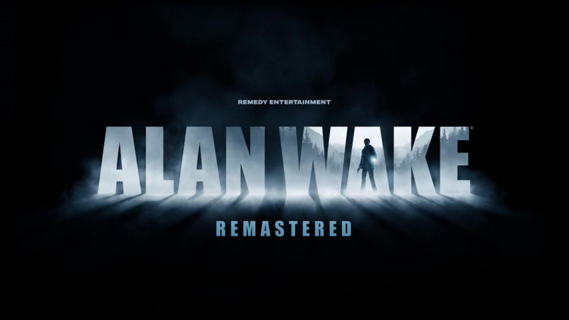 Alan Wake Remastered Key Art