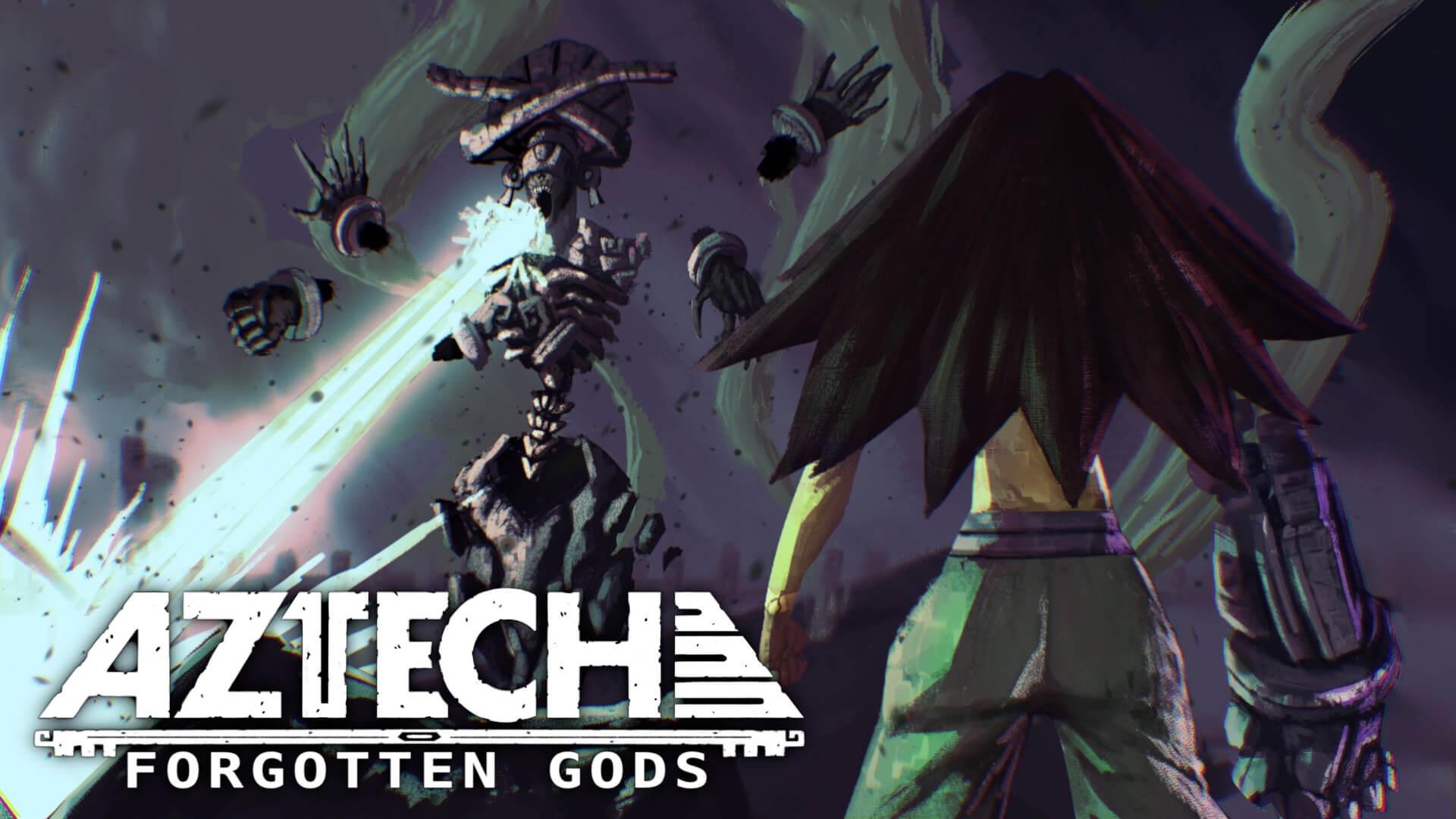 Aztech Forgotten Gods Achtli Coatlicue Key Art