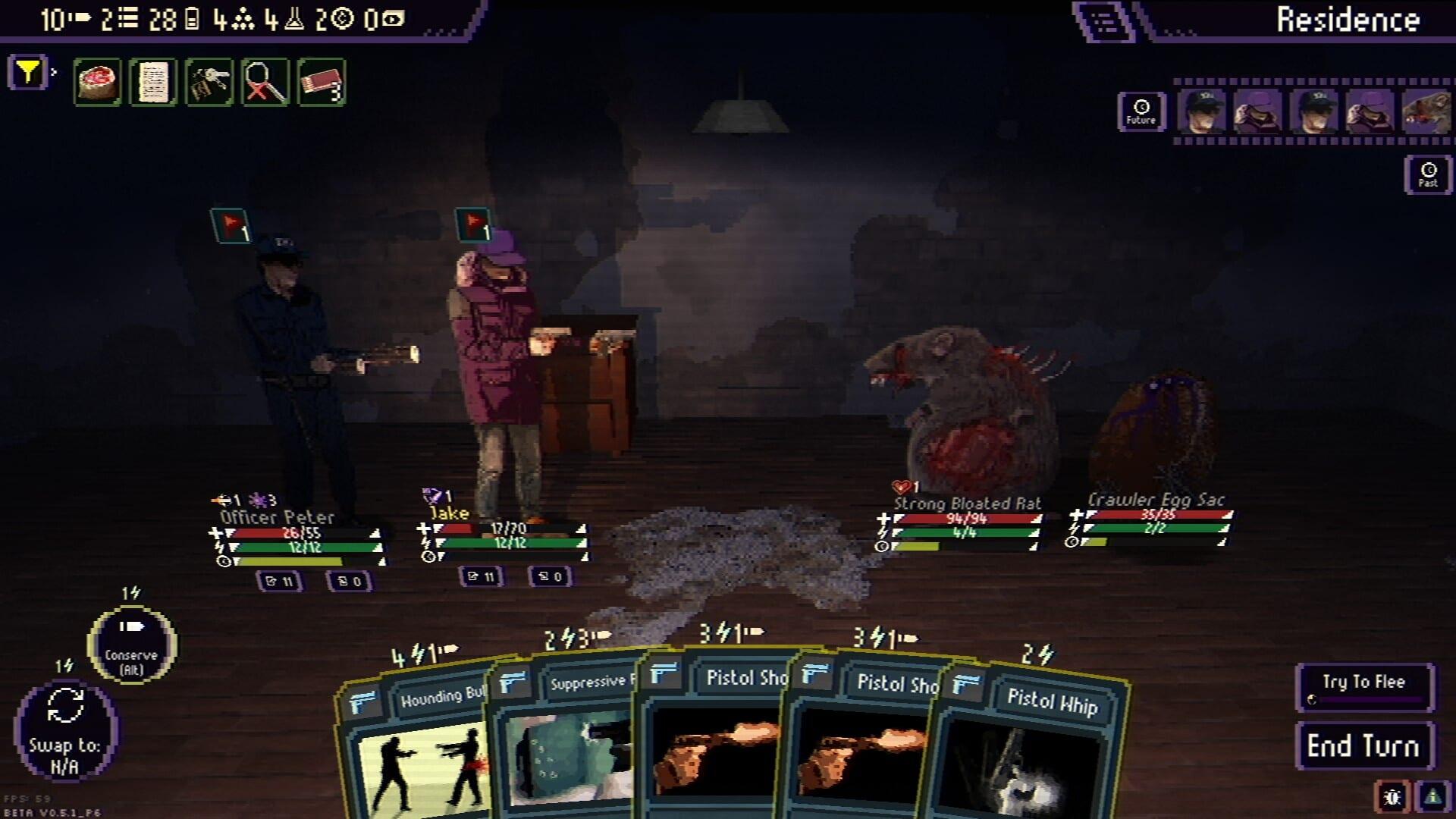 Draft of Darkness Gameplay Screenshot