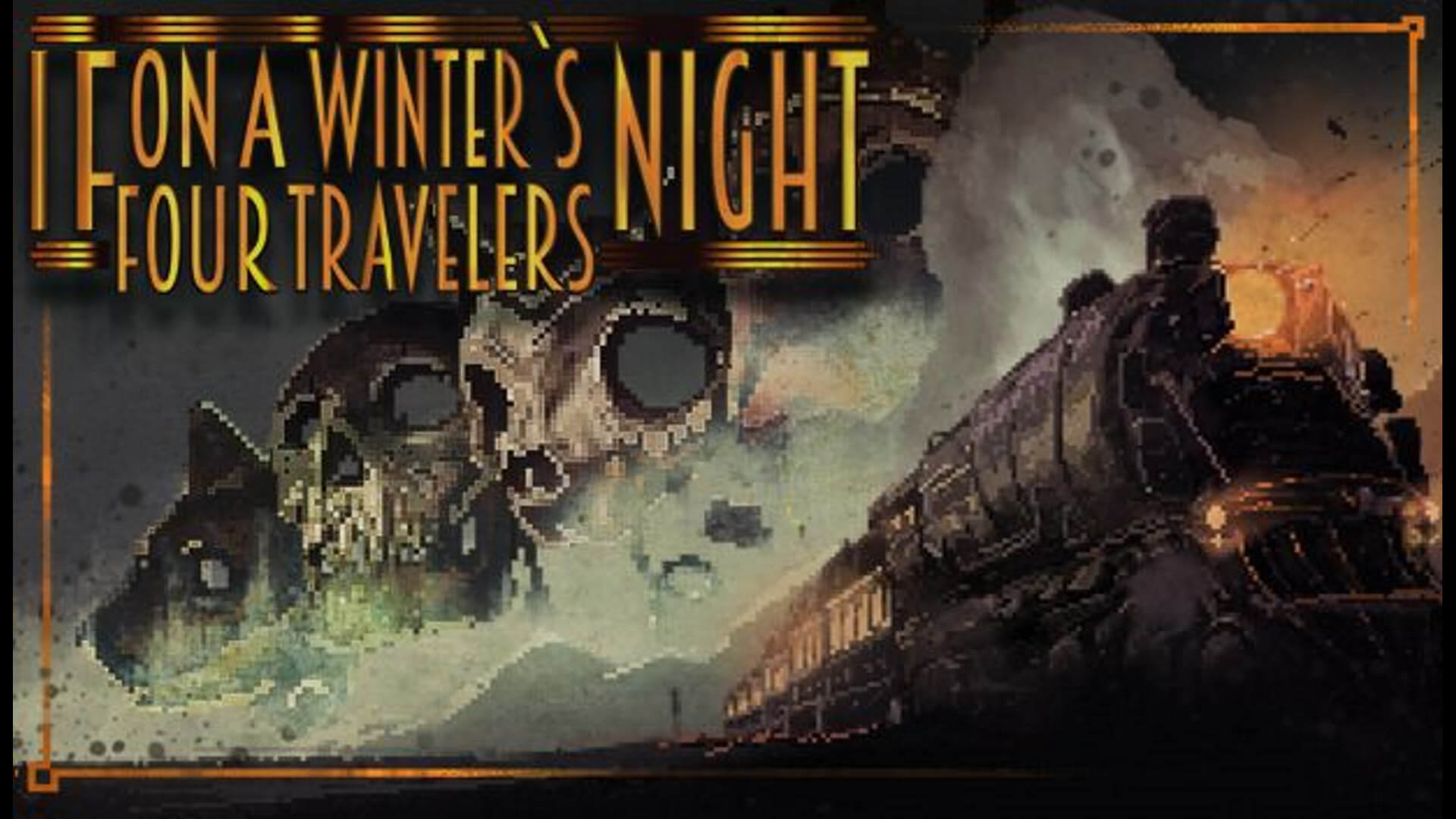 If On A Winter's Night, Four Travelers Key Art