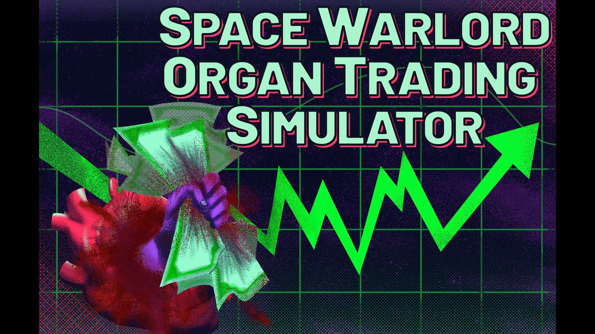 Space Warlord Organ Trading Simulator Key Art