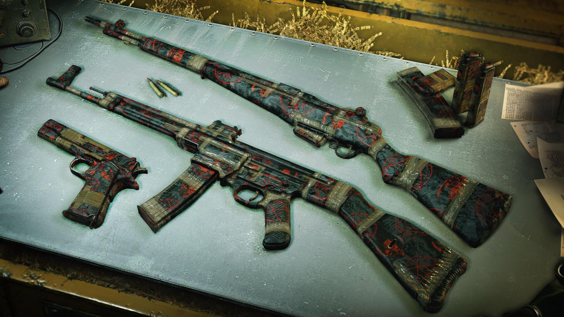 Zombie Army 4: Season 3.3 Zombie-wrapped weapon skins