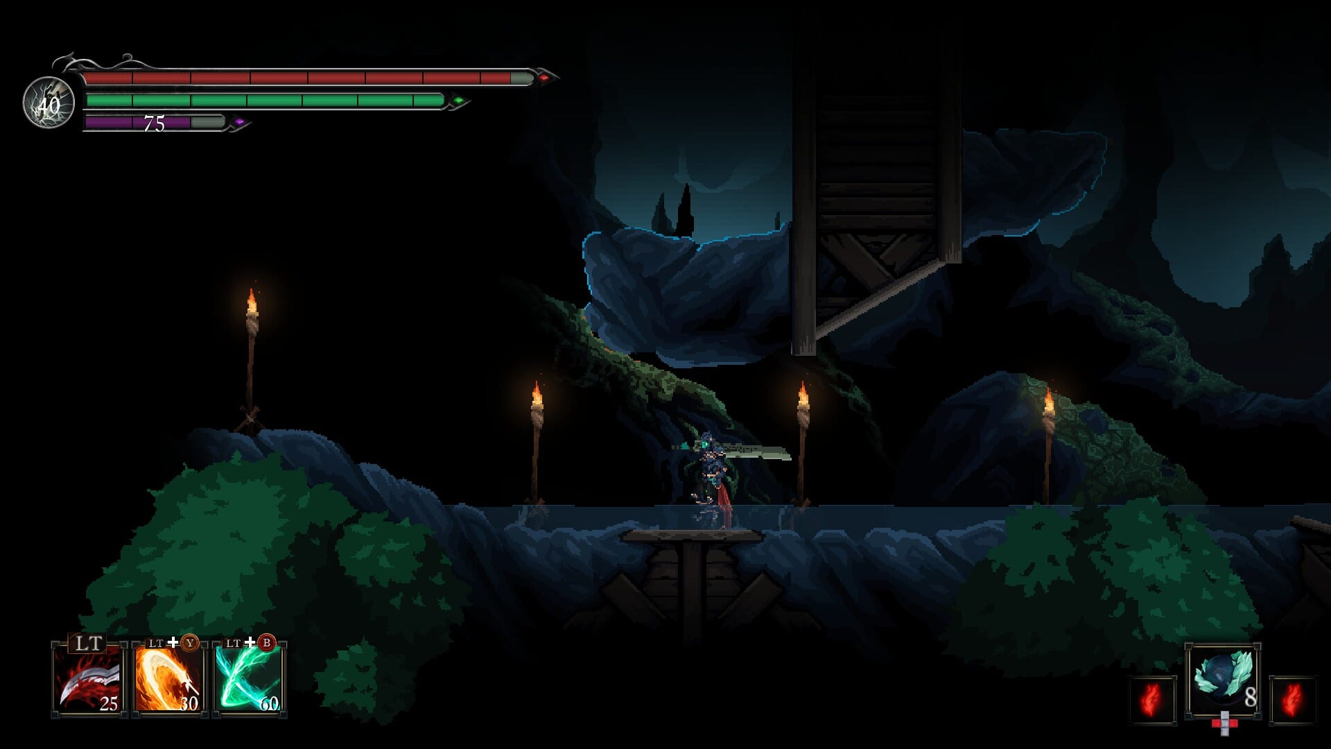 Death's Gambit: Afterlife idle