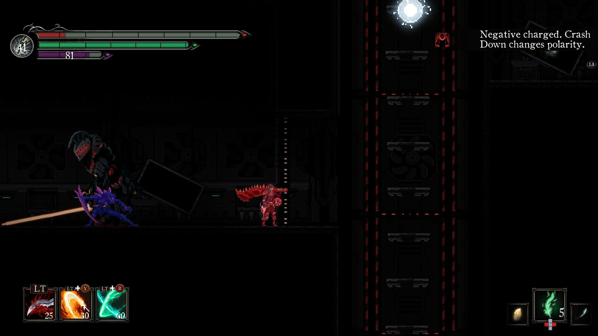 Death's Gambit: Afterlife Garde Tum area