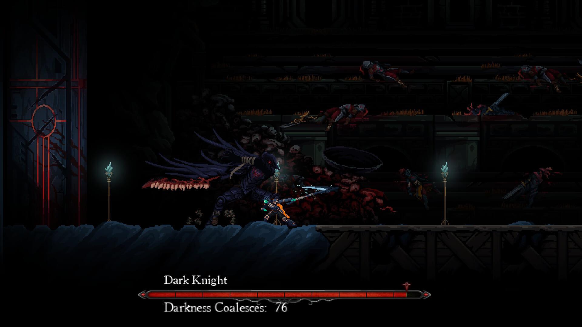 Death's Gambit: Afterlife Dark Knight Boss