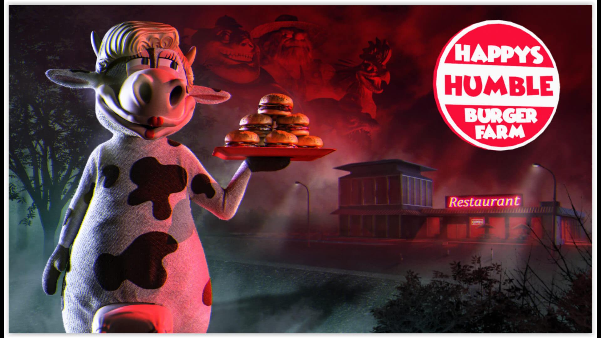 Happy's Humble Burger Farm Key Art