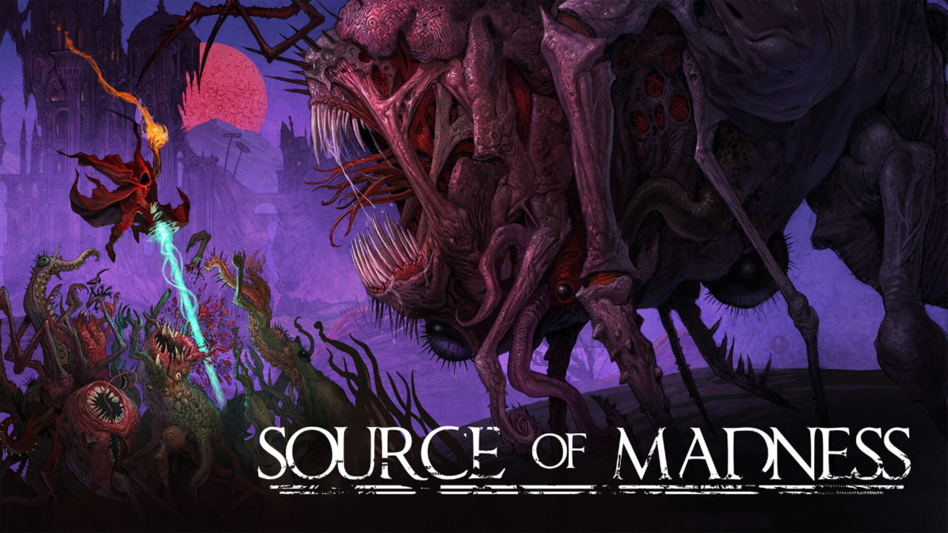 Source of Madness They Came From The Deep Key Art