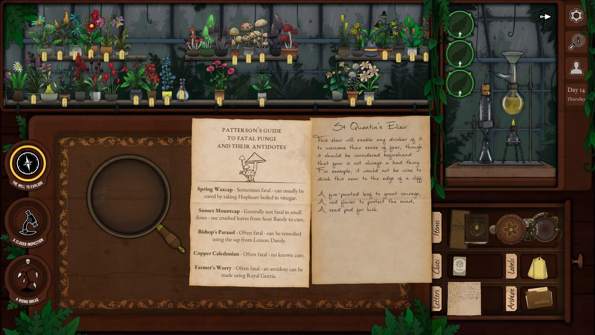 Strange Horticulture Notes