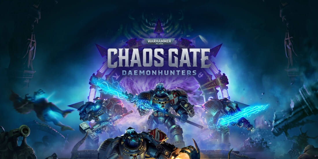 Warhammer 40K: Chaos Gate - Daemonhunters Key Art